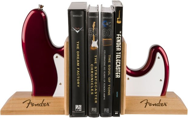 Fender Guitar Bookends