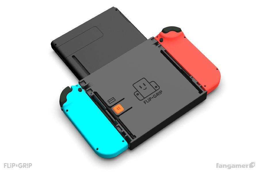 Flip Grip for the Nintendo Switch