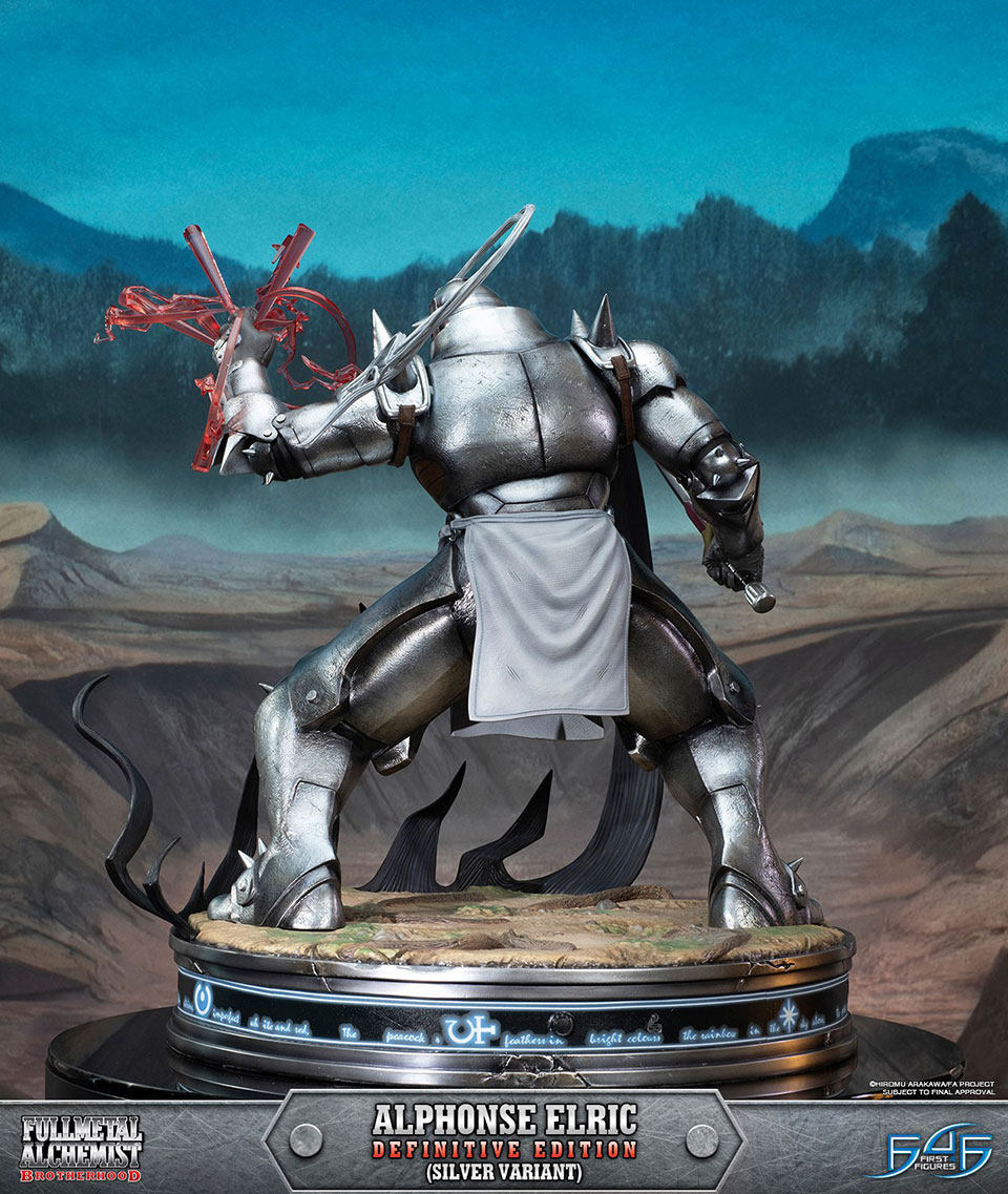 Fullmetal Alchemist Alphonse Statue