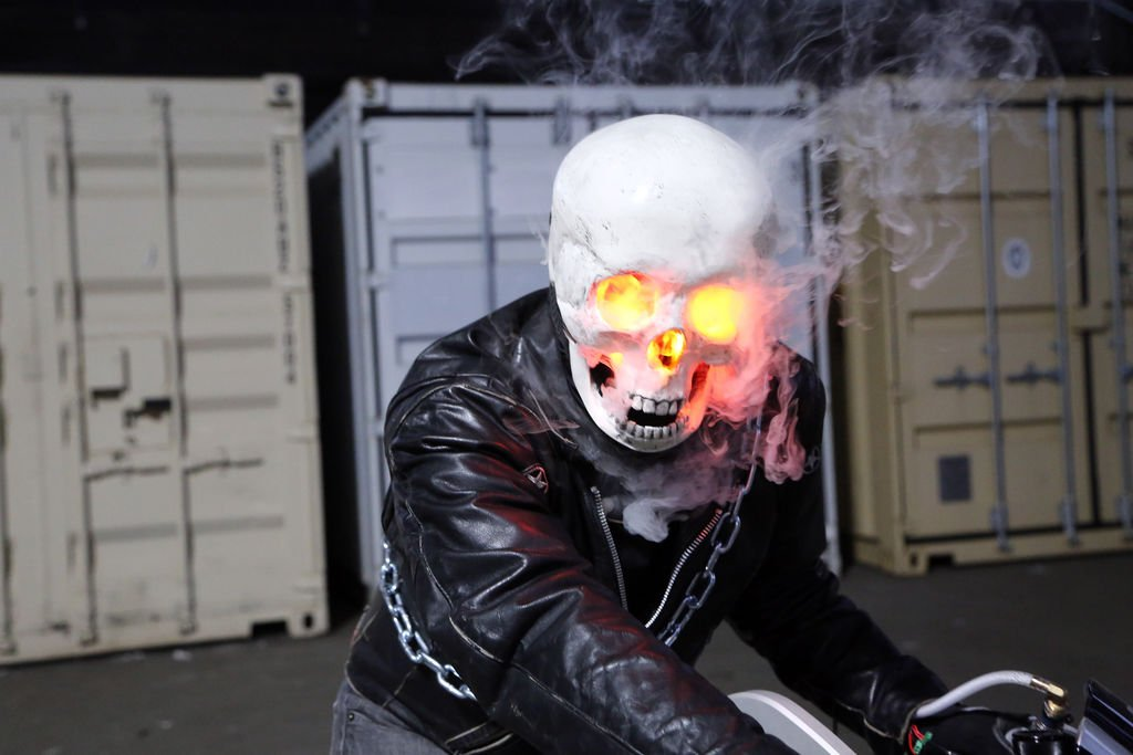 Smoking Ghost Rider Costume