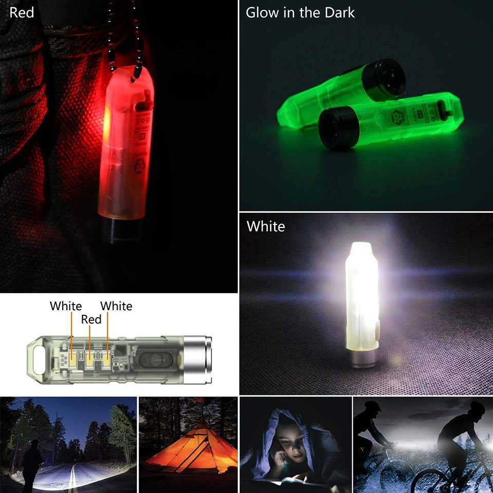 Glow-in-the-Dark LED Flashlight