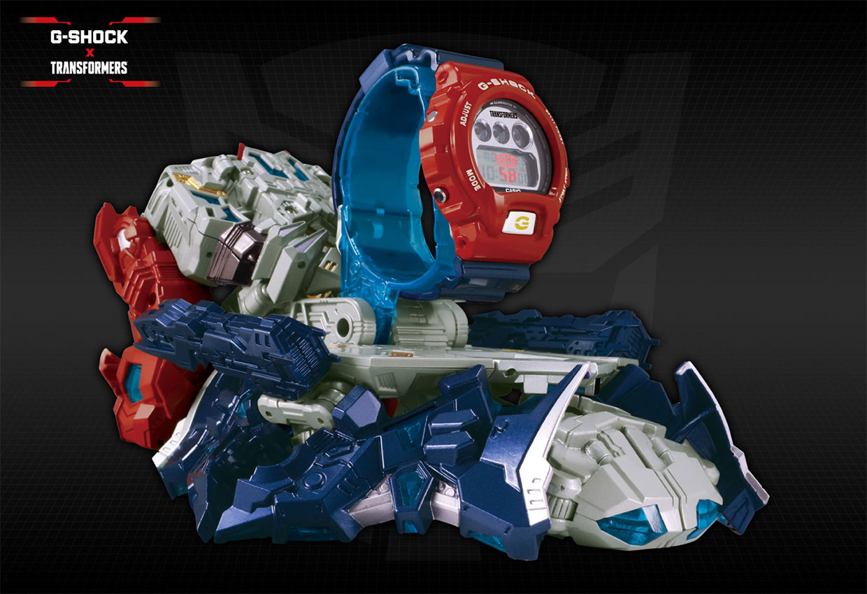 G-SHOCK x Optimus Prime