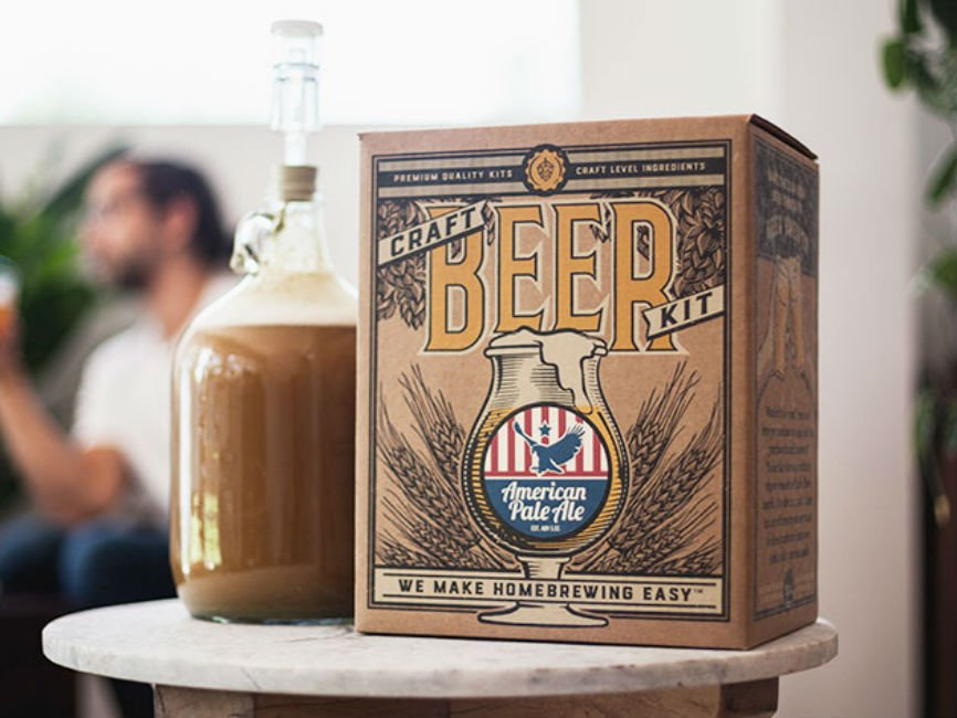 Make Your Own Beer with This Homebrewing Kit