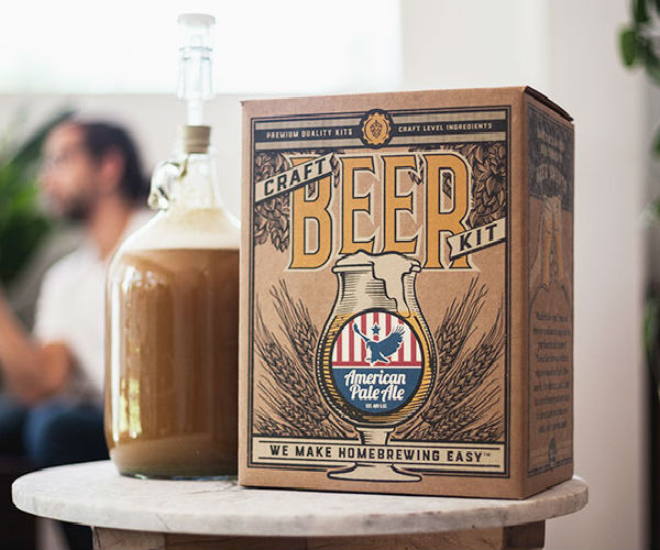 Craft Beer Homebrewing Kit