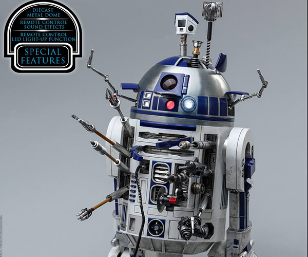 Hot Toys R2-D2 Deluxe Action Figure
