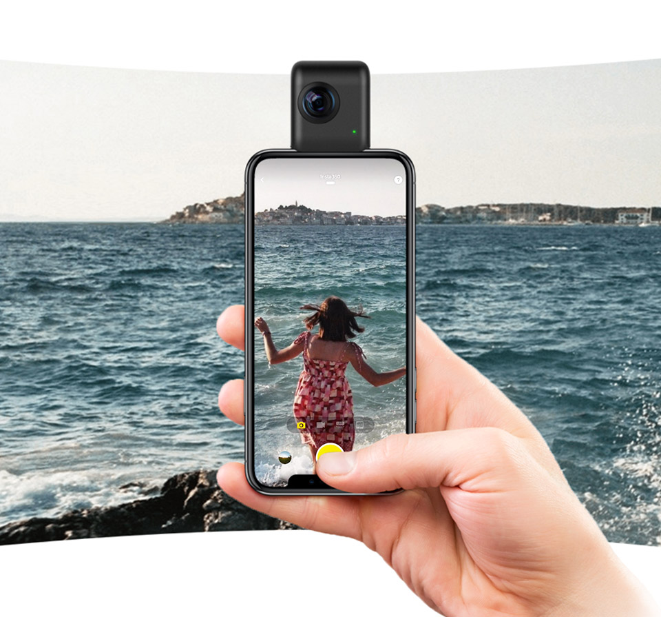 Insta360 Nano S iPhone VR Cam