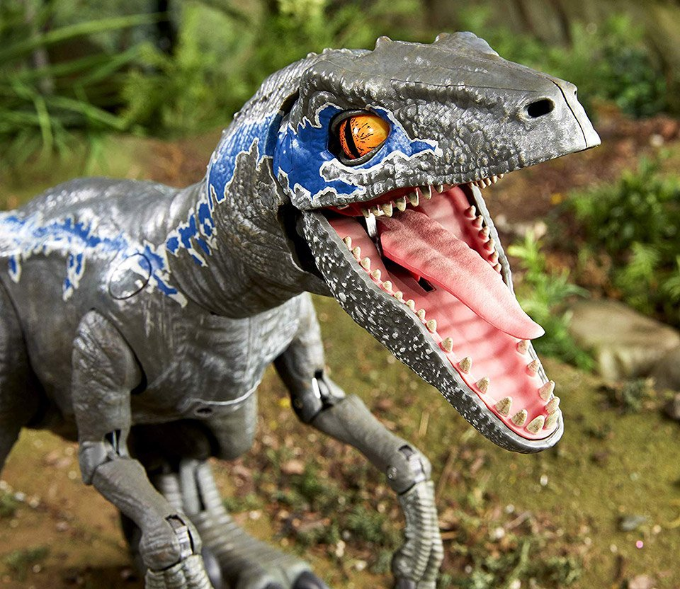 Alpha Blue Movie mattel's jurassic world alpha training blue is the coolest