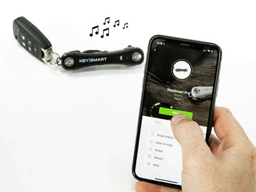 KeySmart Pro w/Tile Location