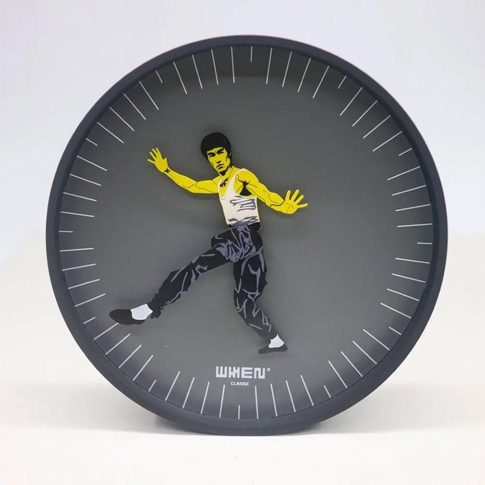 Kung Fu Clock