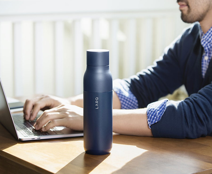 Larq Self-Cleaning Water Bottle