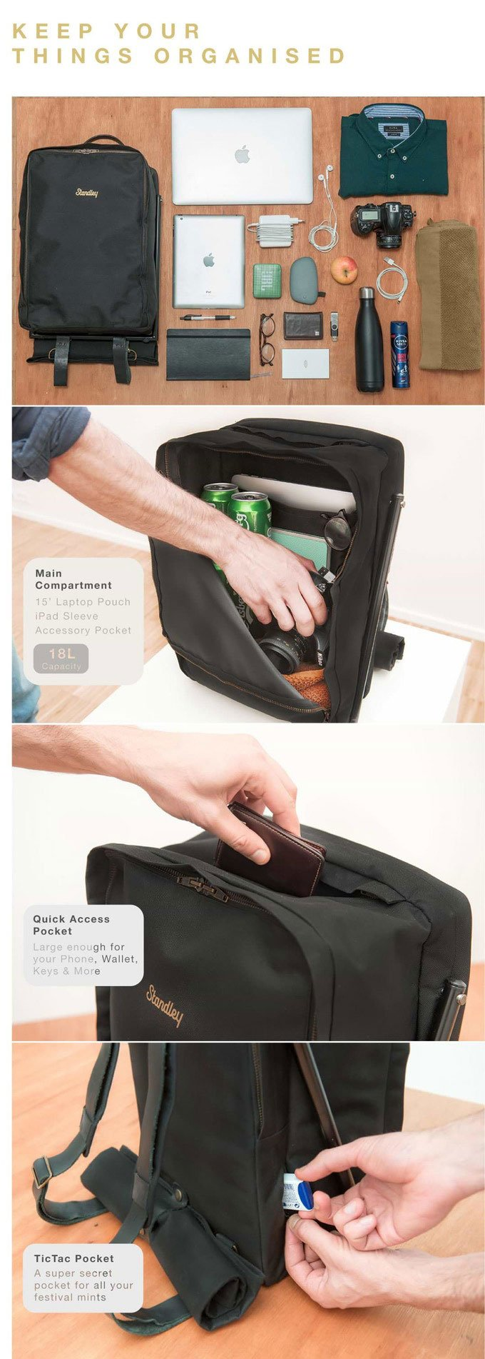 LeanBag Backpack
