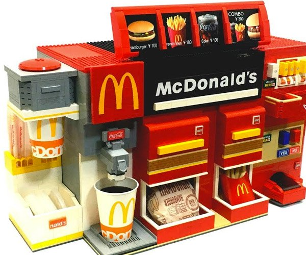 The LEGO McDonald's