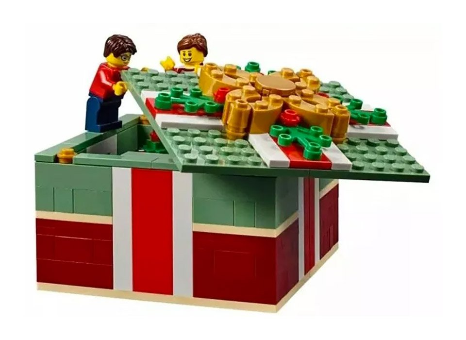 LEGO Christmas Gift Box