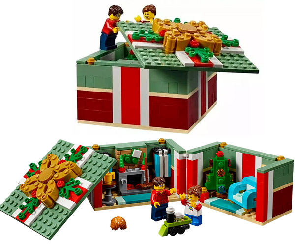 LEGO Christmas Gift Box