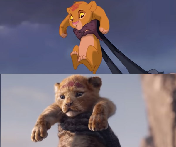 The Lion King Compared