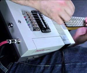 Playing the Nintendo Guitar