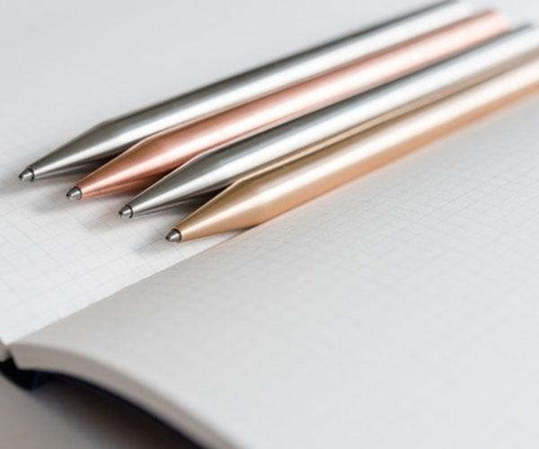Minimal Metal Ballpoint Pen