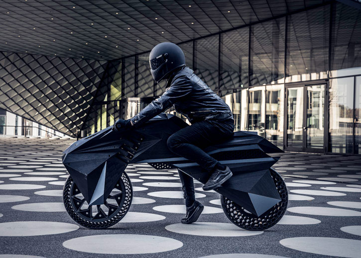 NERA 3D Printed Motorcycle
