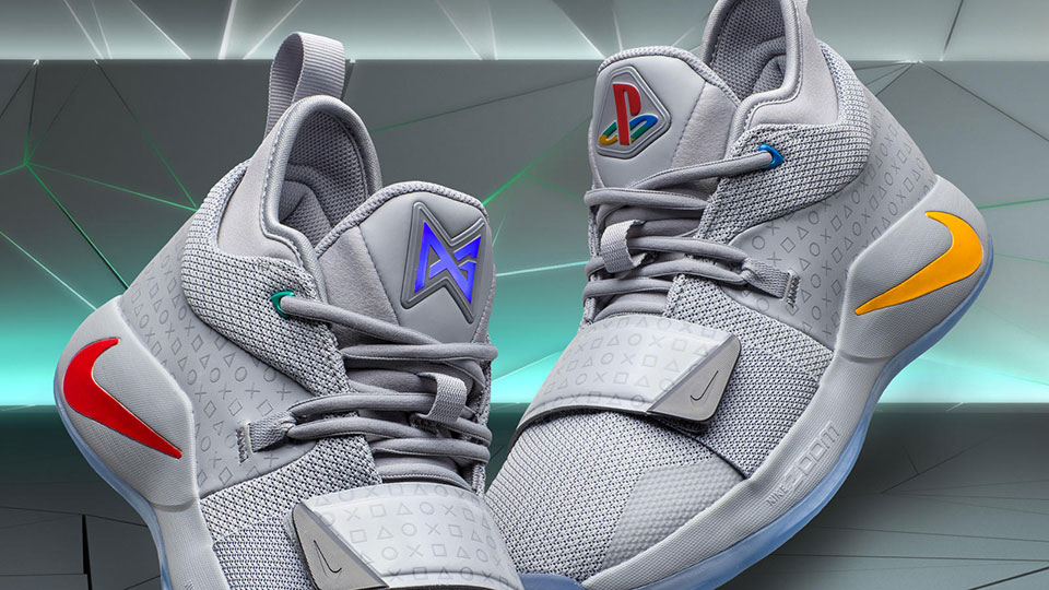 54221a3d348e Paul George s Latest Nike Shoe Gets a Classic PlayStation Colorway