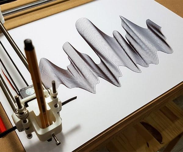 Ink Oscillations / Drawing Machine