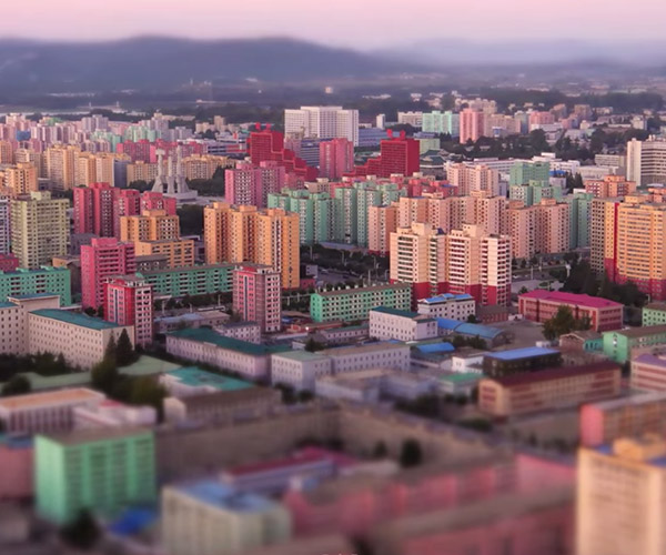 Pecuilar Pyongyang