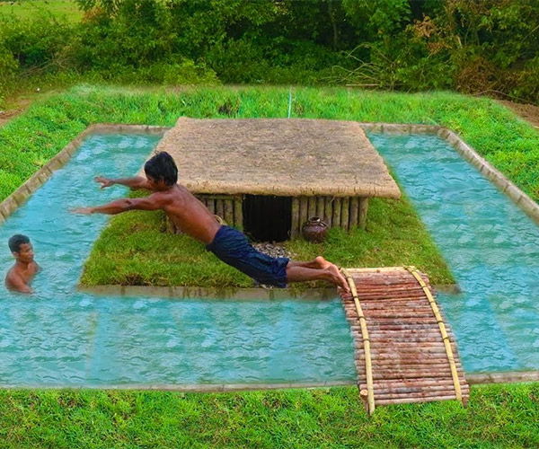 Building a Primitive Pool
