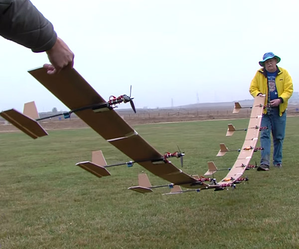 Flying 9 R/C Planes at Once