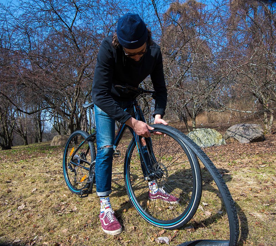 ReTyre One Zip-On Bicycle Tire