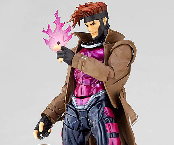 Revoltech Gambit Action Figure