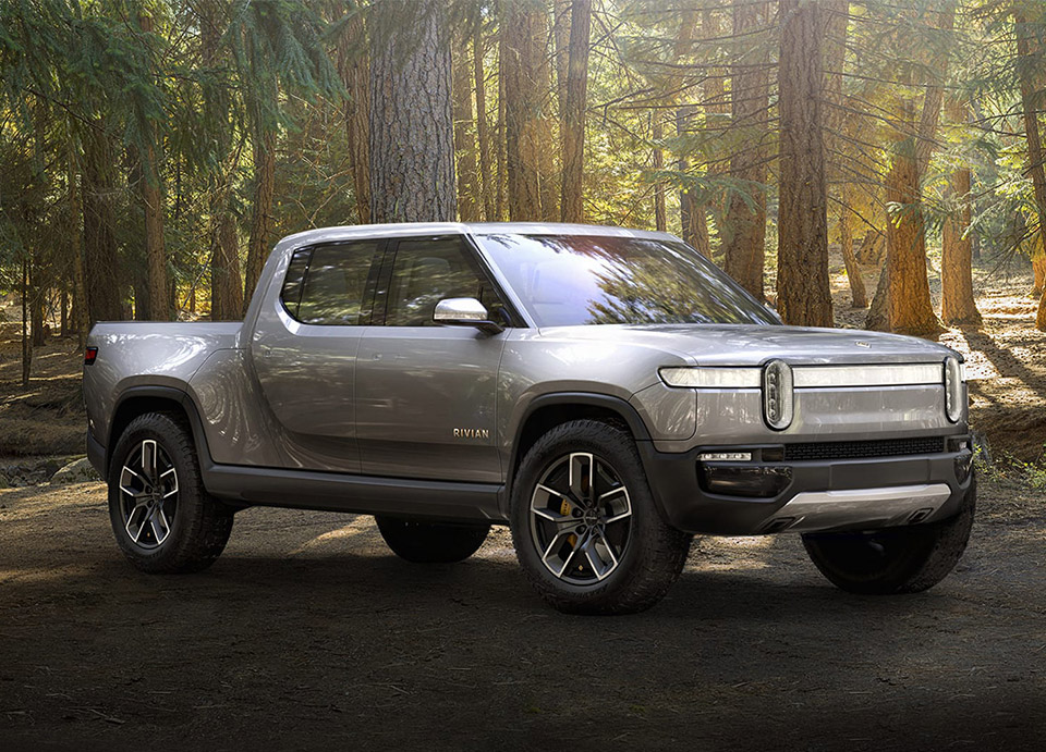 The Rivian R1T Electric Truck Has 400 Mile Range, Goes 0 ...