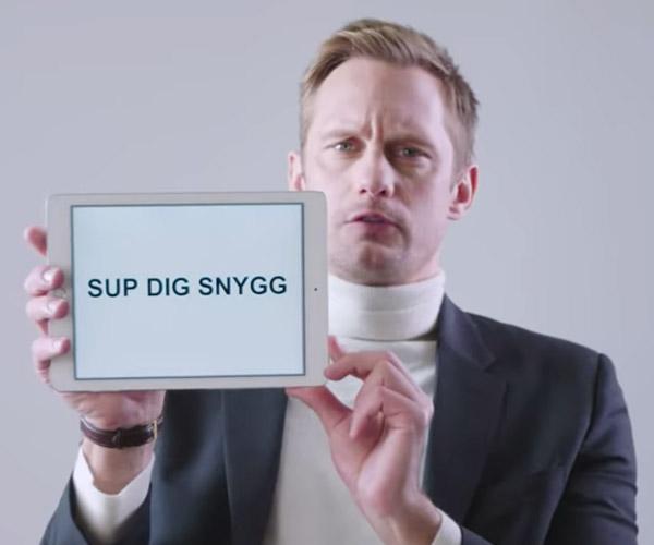 Skarsgård's Swedish Slang