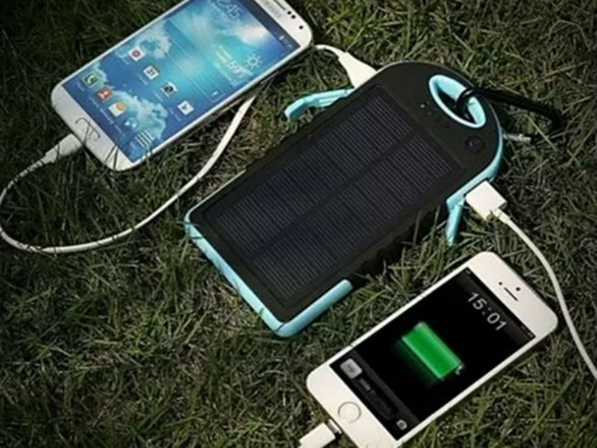 This Universal Solar Charger Gives Your Gadgets a Boost in a Pinch