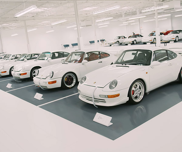 The White Porsche Collection