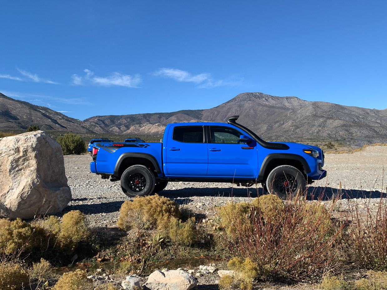 Trail Trekkin' with Toyota TRD Pro