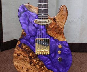 Wood & Resin Electric Guitar