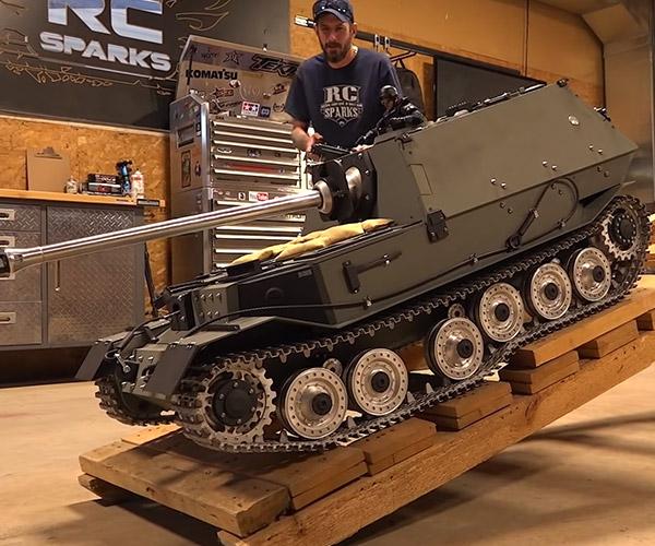 Giant R/C Tank
