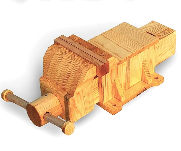 Building a Wooden Vise