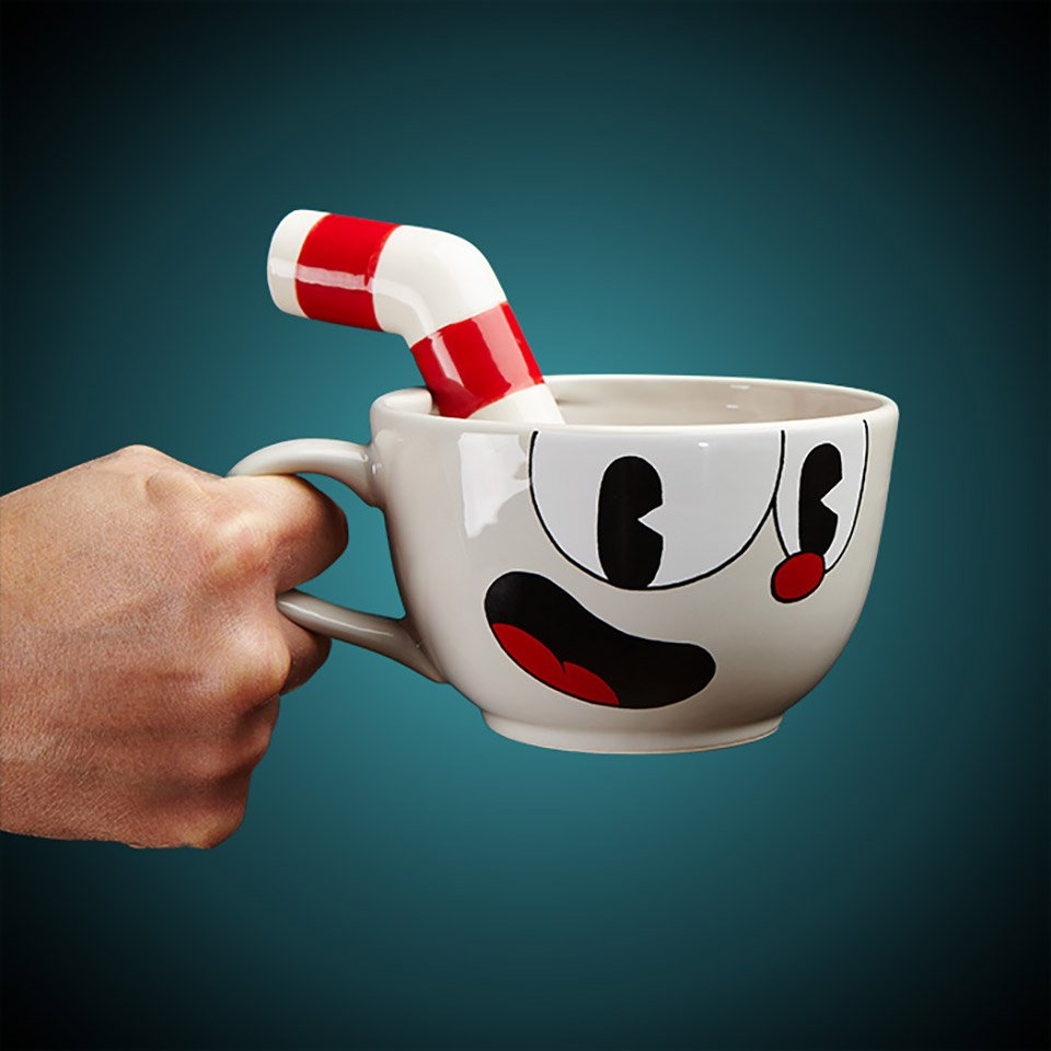 Cuphead Ceramic Mug