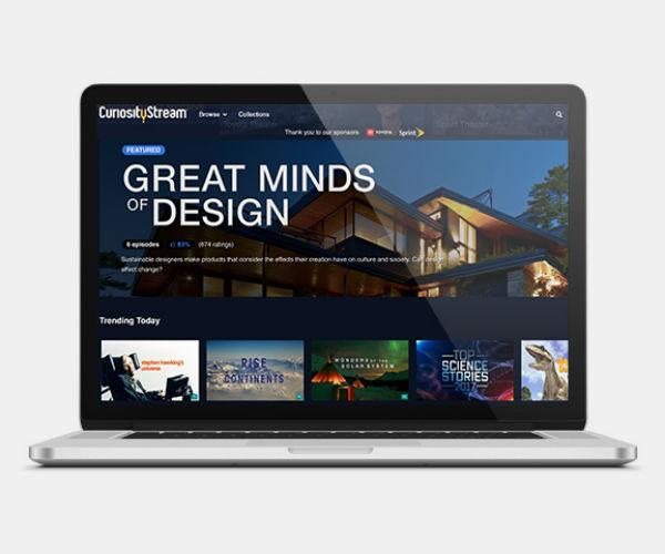 CuriosityStream: 2-Yr Subscription