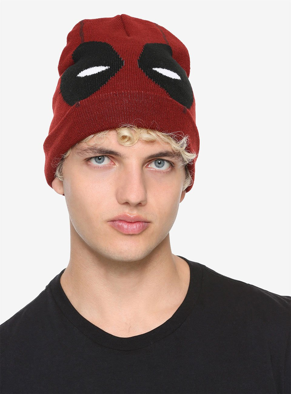 Deadpool Face Watchman Beanie