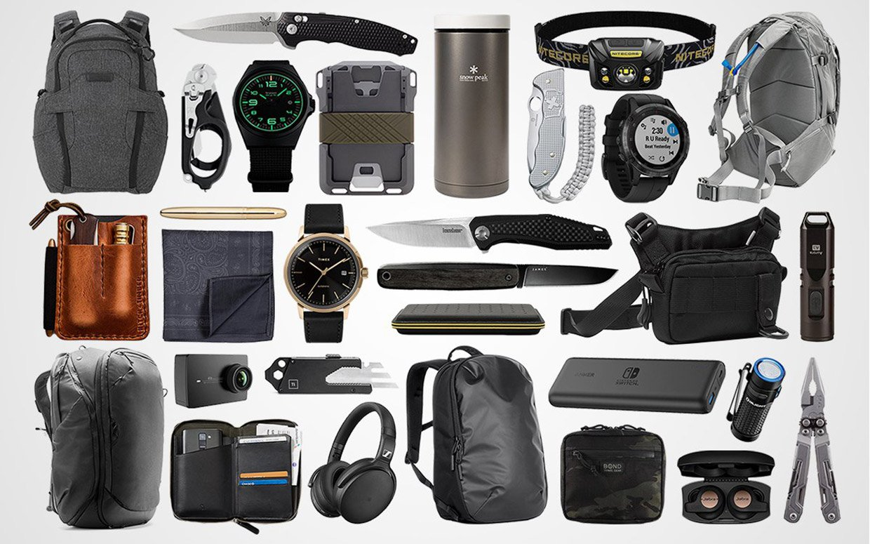 EDC Holiday Gift Guide 2018
