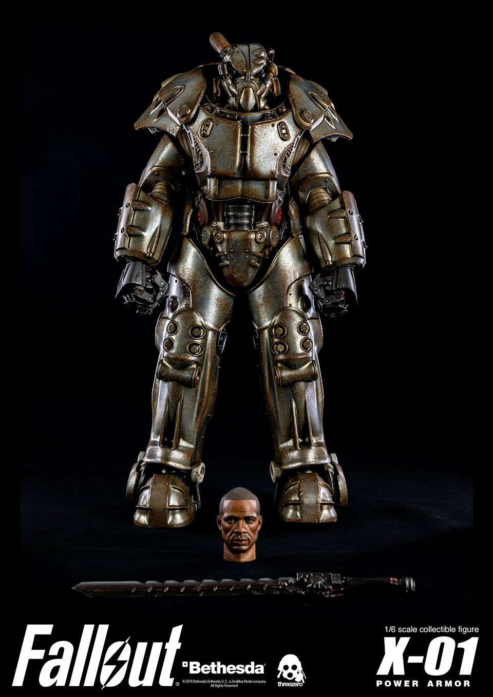 Fallout 4's X-01 Power Armor Gets a Highly Detailed Action Figure
