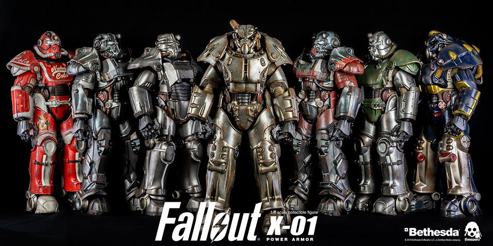 Fallout 4 X-01 Action Figure