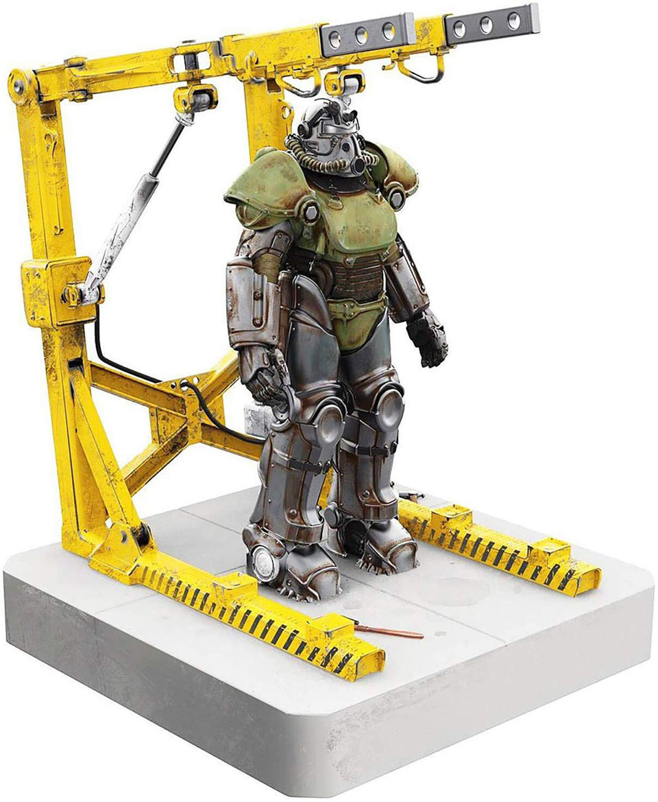 This Fallout Power Armor And Cradle Statue Is Also A Usb Hub