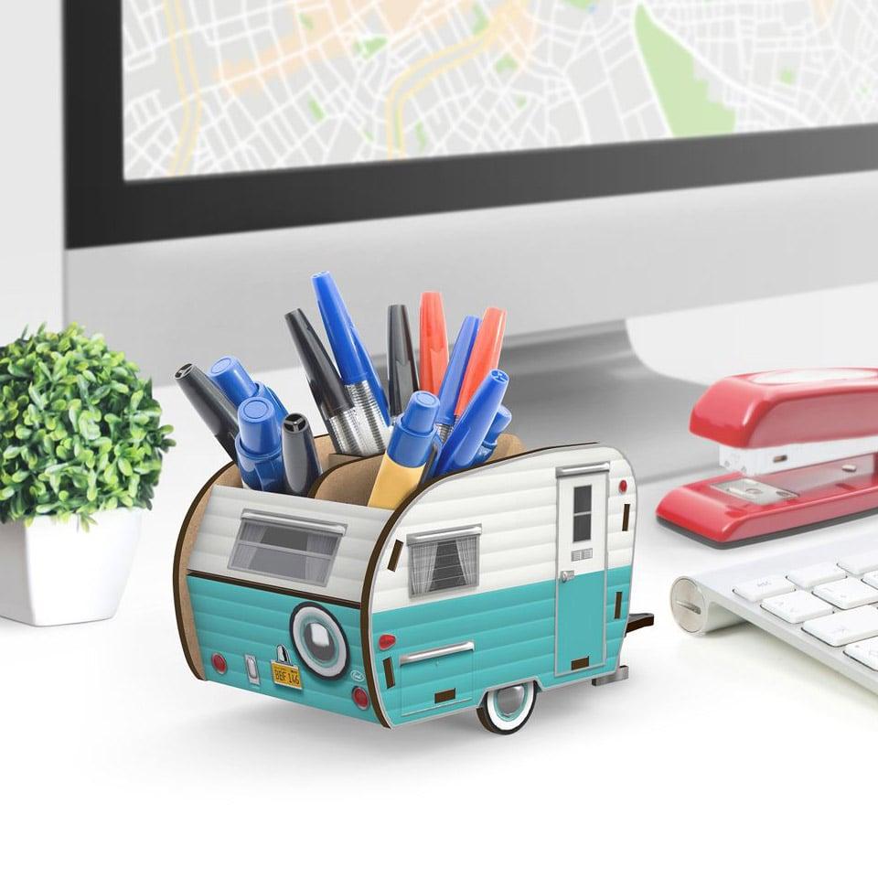 Happy Camper Desk Caddy