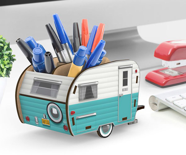 Happy Camper Desk Caddy