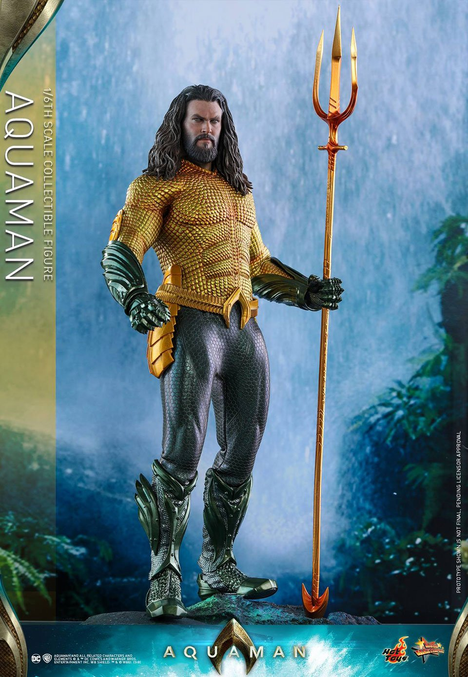 Hot Toys Aquaman Action Figure