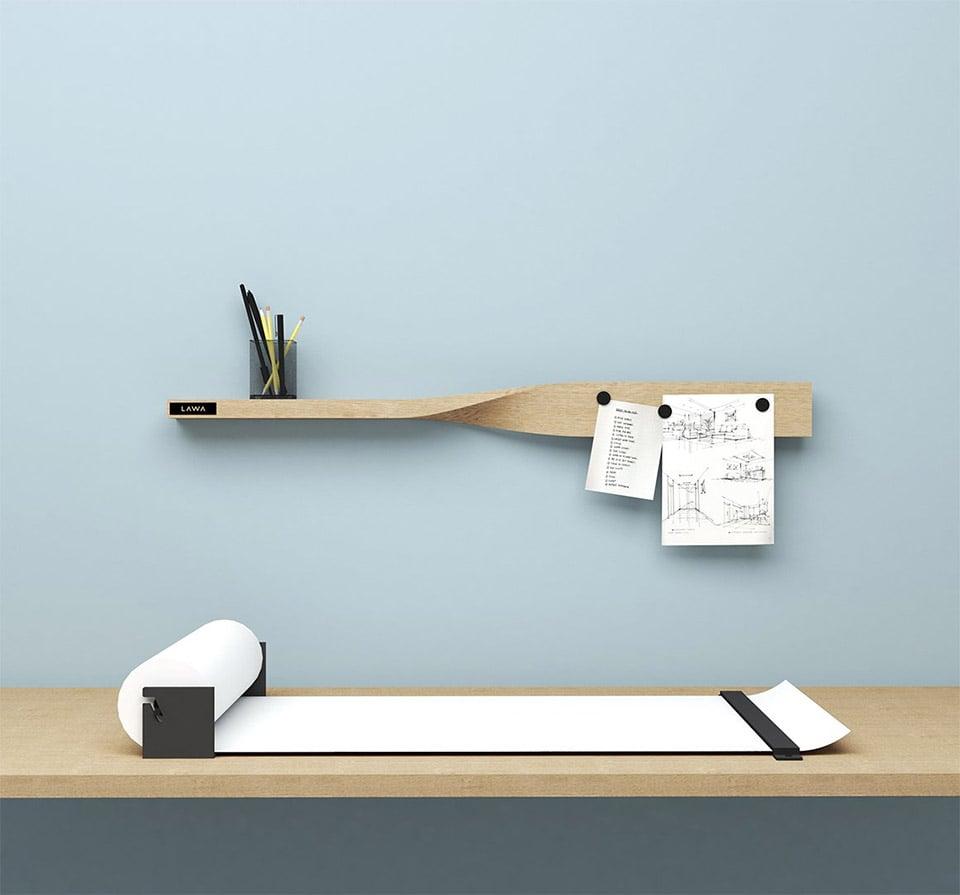LAWA Twist Shelf