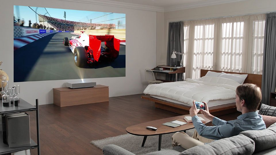 LG CineBeam HU85L 4K Projector