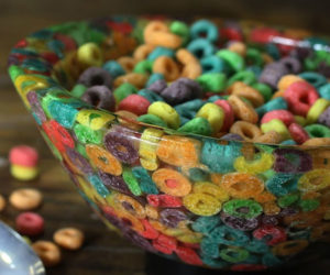 Making a Cereal Bowl from Cereal